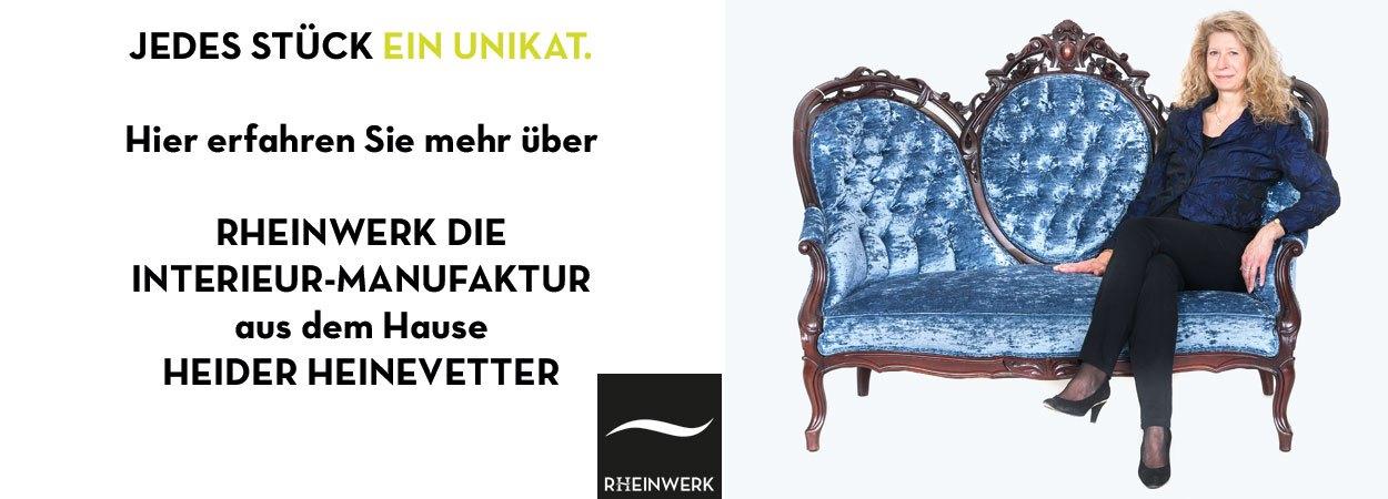 Rheinwerk Interieur-Manufaktur Polsterei Schreinerei Textilatelier