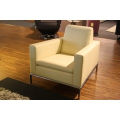 de Sede-DE SEDE Sessel DS-4/01 Leder weiß-31