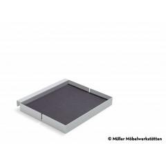 Müller Möbelwerkstätten-MÜLLER MÖBELWERKSTÄTTEN Ablage quadrat weiß zu Bett Flai-31
