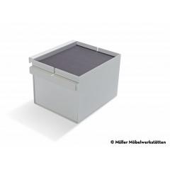 Müller Möbelwerkstätten-MÜLLER MÖBELWERKSTÄTTEN Ablage Schubkasten weiß zu Bett Flai-31