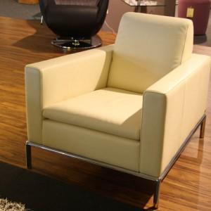 DE SEDE Sessel DS-4/01 Leder weiß