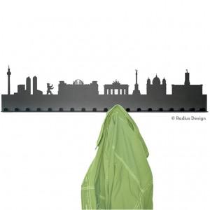 RADIUS DESIGN Städtegarderobe Berlin Stahl schwarz