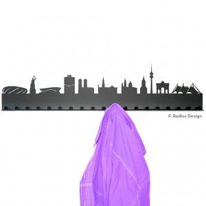 RADIUS DESIGN Städtegarderobe München Stahl schwarz