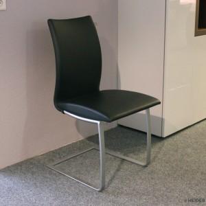 TONON Stuhl Swing Leder schwarz