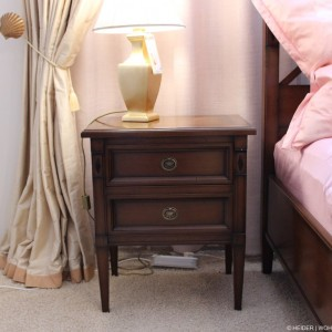 EBANART Nachttisch 6730 A Kirschbaum