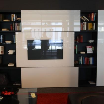 ACERBIS Multifunktionswohnwand Tuttuno 314 schwarz/weiß
