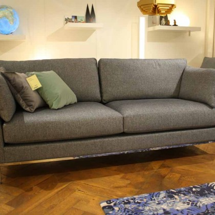 IP DESIGN Sofa 2,5-sitzig Jon Edwards Stoff grau