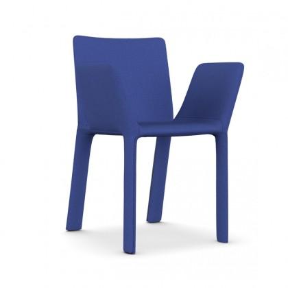 KRISTALIA Armlehnstuhl Joko Stoff blau