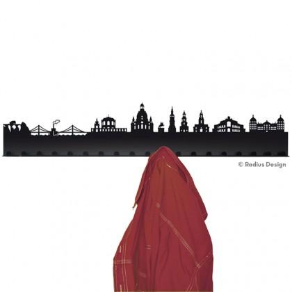 RADIUS DESIGN Städtegarderobe Dresden Stahl schwarz