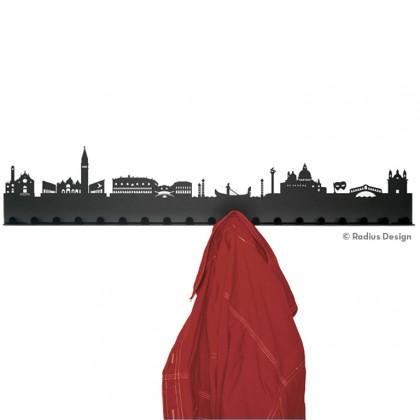 RADIUS DESIGN Städtegarderobe Venedig Stahl schwarz