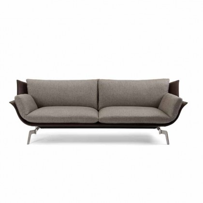 IP-DESIGN Sofa Loft Stoff/Leder