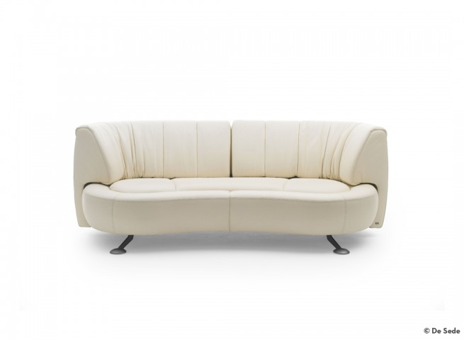 DE SEDE Sofa DS-164/03 Leder Living Sand