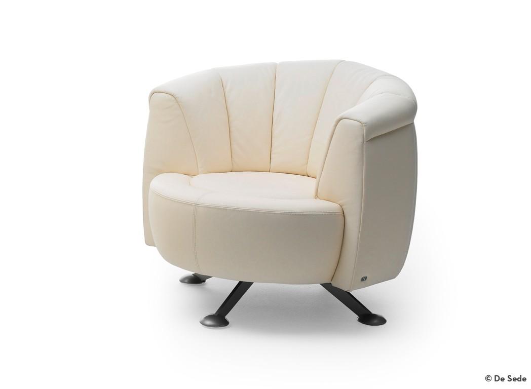 de sede sessel ds 164 01 leder living sand. Black Bedroom Furniture Sets. Home Design Ideas