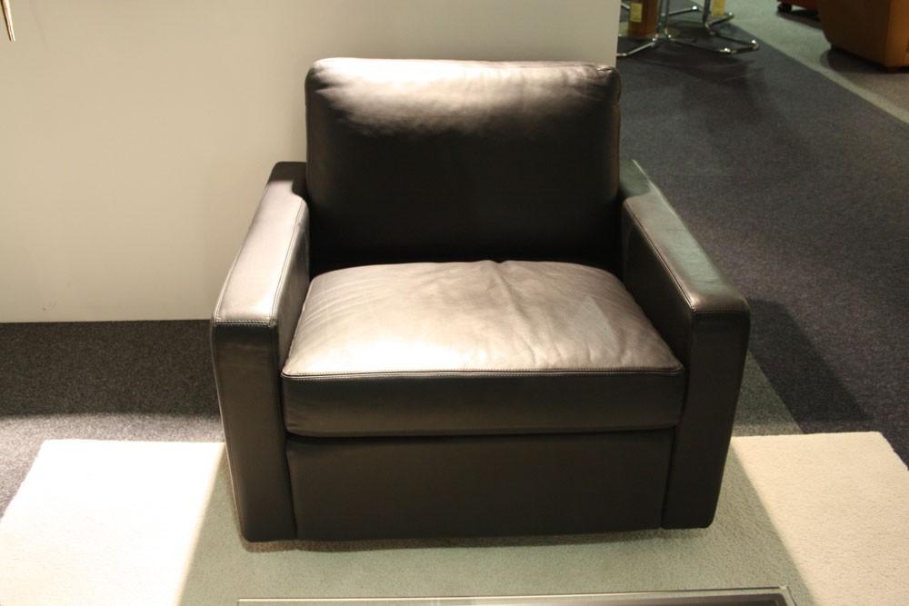 cor drehsessel conseta bodennah leder schwarz. Black Bedroom Furniture Sets. Home Design Ideas