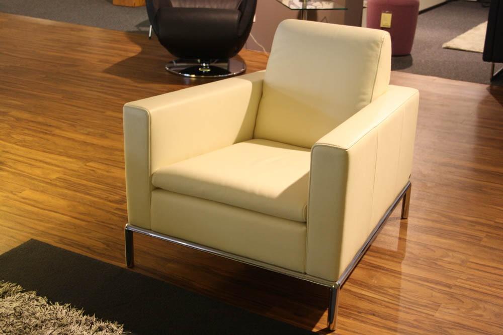 de sede sessel ds 4 01 leder wei. Black Bedroom Furniture Sets. Home Design Ideas