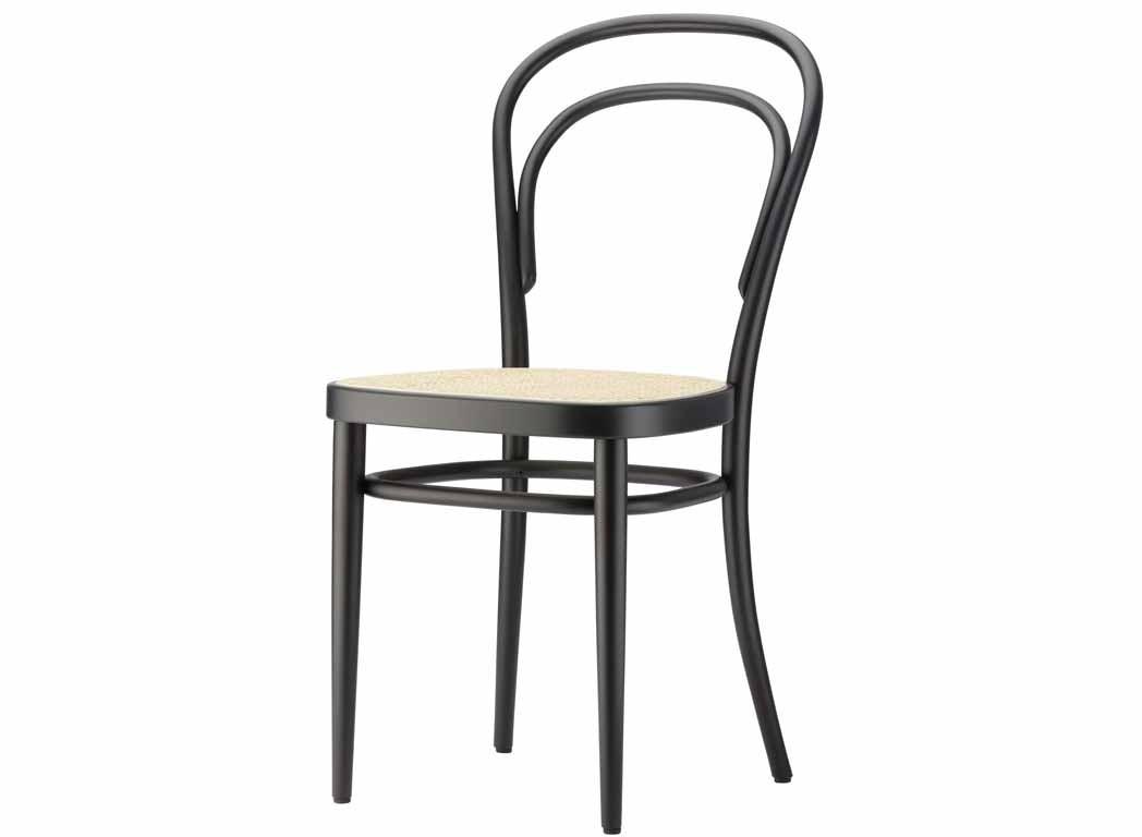 Thonet stuhl 210 buche schwarz for Thonet stuhl schwarz
