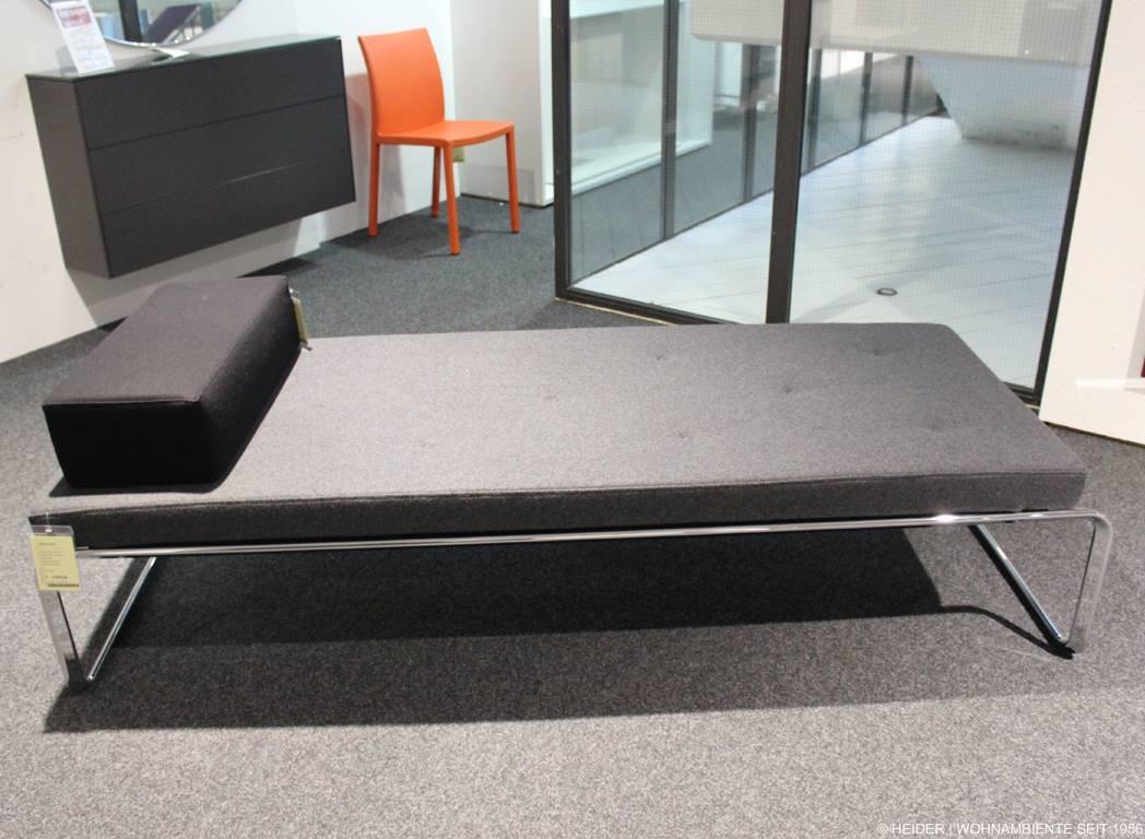 tecta liege oblique f 16 stoff anthrazit. Black Bedroom Furniture Sets. Home Design Ideas
