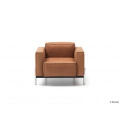 de Sede-DE SEDE Sessel DS-21/01 Leder Naturale Cuoio-01