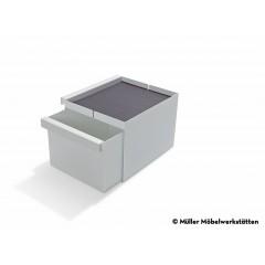Müller Möbelwerkstätten-MÜLLER MÖBELWERKSTÄTTEN Ablage Schubkasten weiß zu Bett Flai-01