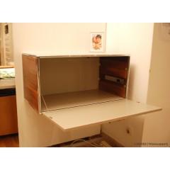 Dauphin Home-DAUPHIN HOME Hängeschrank Modul Space Nußbaum / Lack schlamm-01