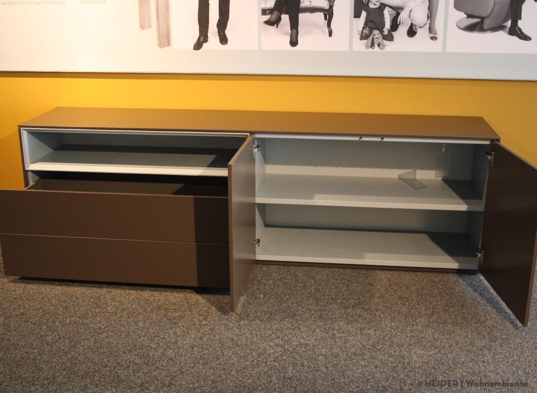 piure sideboard line lack braun. Black Bedroom Furniture Sets. Home Design Ideas