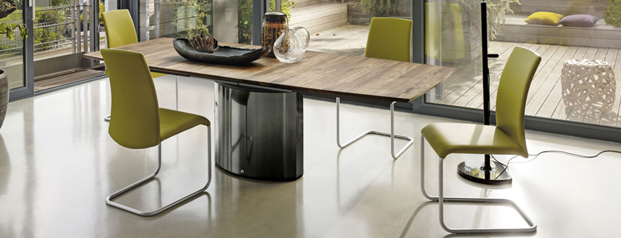 draenert tische bei heider wohnambiente. Black Bedroom Furniture Sets. Home Design Ideas