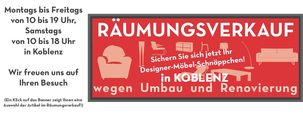 Renovierungs-Räumungsverkauf in Koblenz